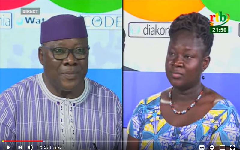 Dialogue citoyen du 10 avril 2018 avec Oumarou IDANI, Ministre des Mines et des Carrières