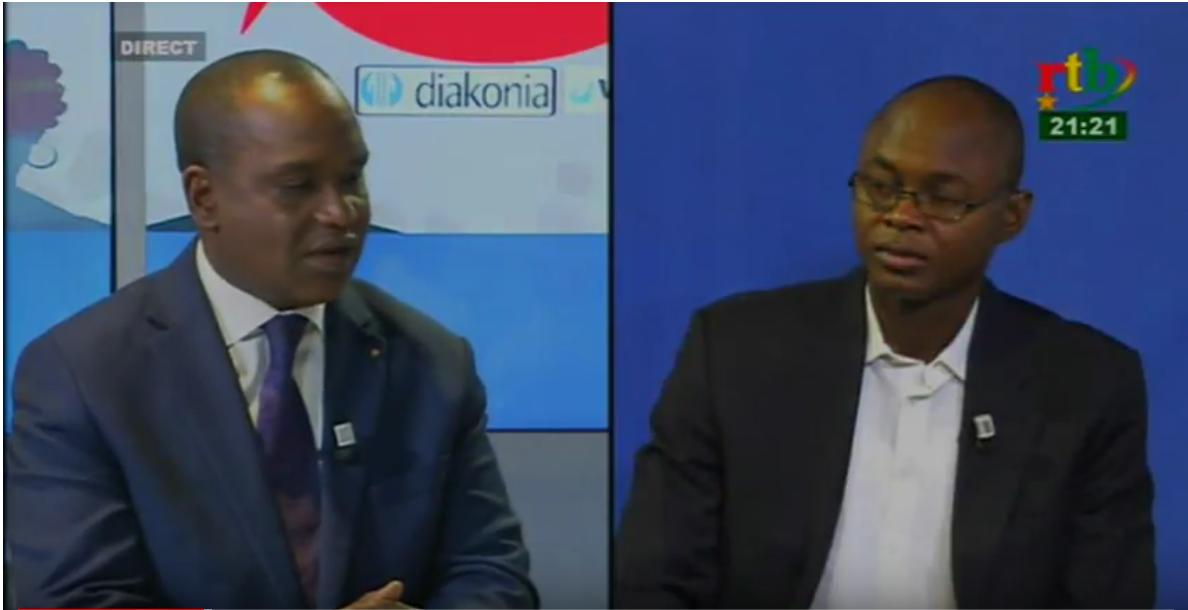 Dialogue citoyen du 19 Décembre 2018 avec le ministre des Affaires Étrangères, Mr. Alpha BARRY l