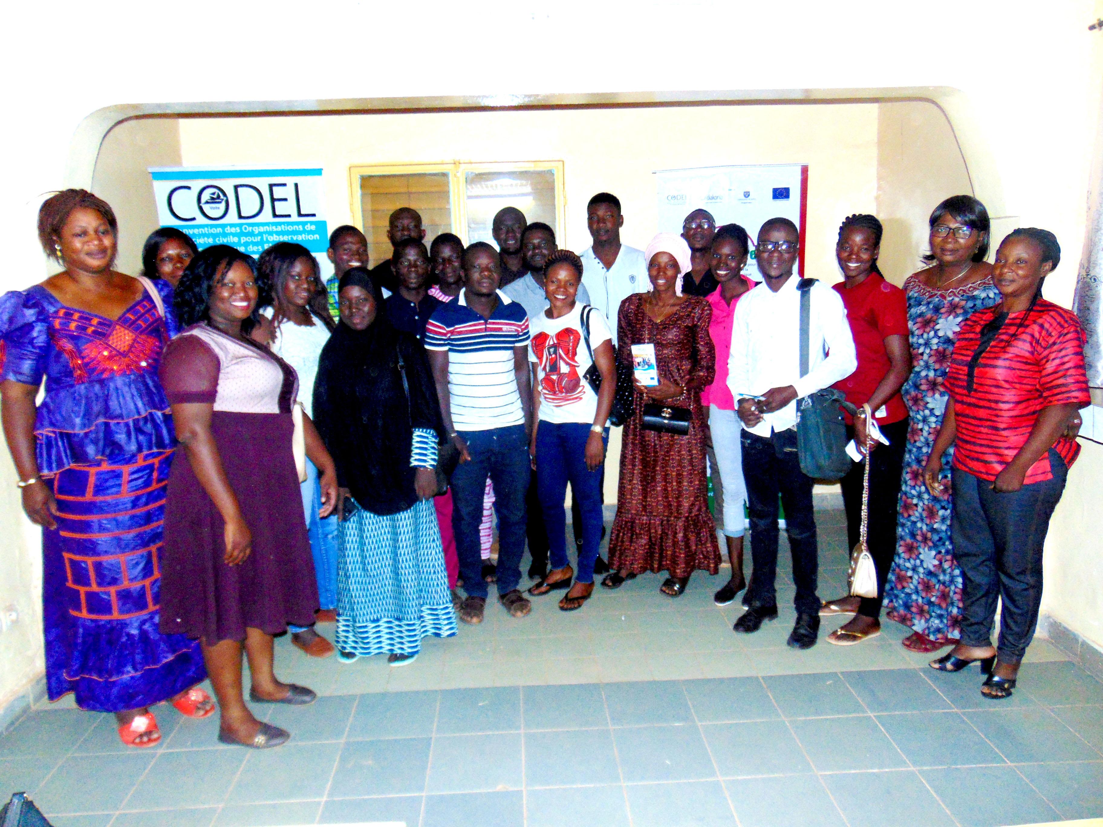 Imputabilité politique et redevabilité socio économique : La CODEL organise une série de sensibilisation dans des provinces du Burkina Faso.